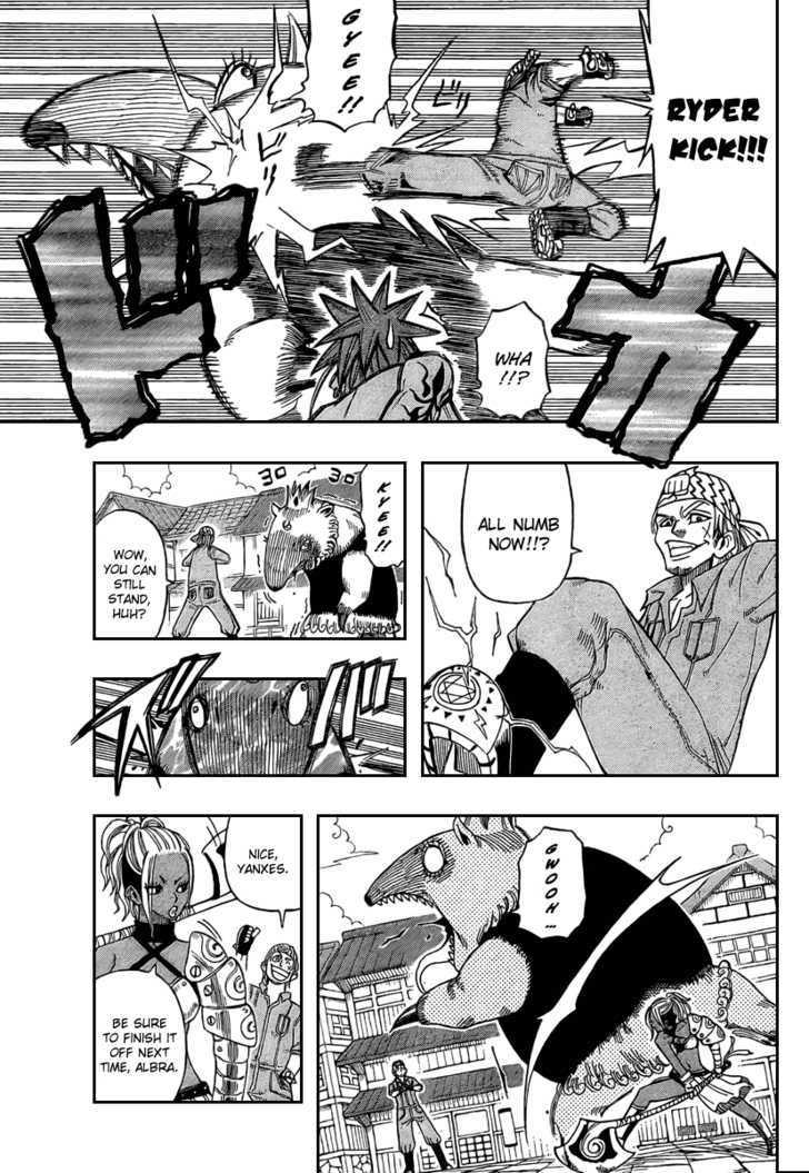 Buster Keel! Vol.2 Chapter 14 : My Funny Crem (Part 1) page 13 - Mangakakalots.com