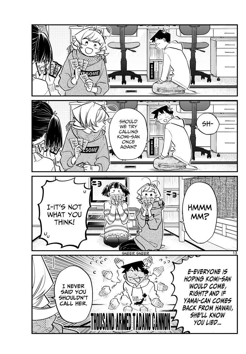 Komi-San Wa Komyushou Desu Vol.7 Chapter 94: Everyone's New Year page 13 - Mangakakalot