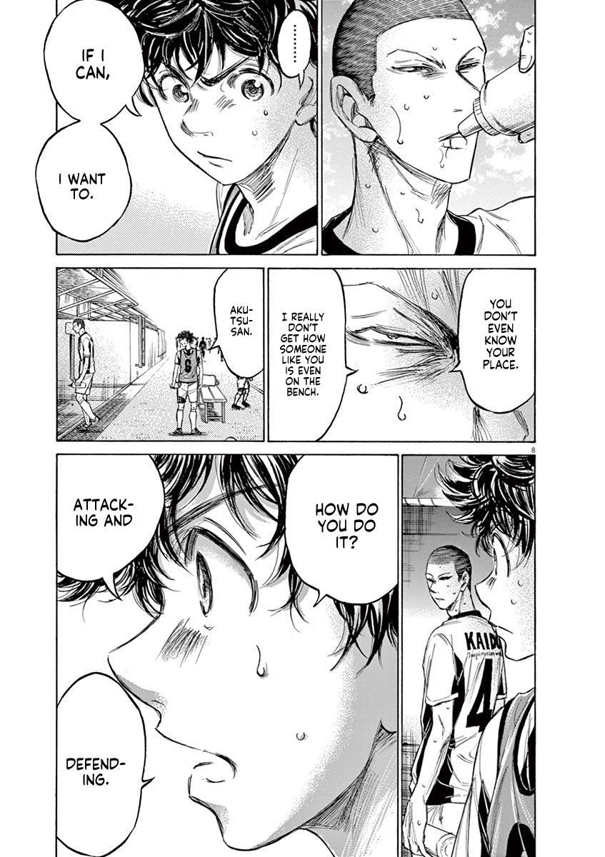 Ao Ashi Vol.13 Chapter 128: Substitution page 10 - Mangakakalots.com