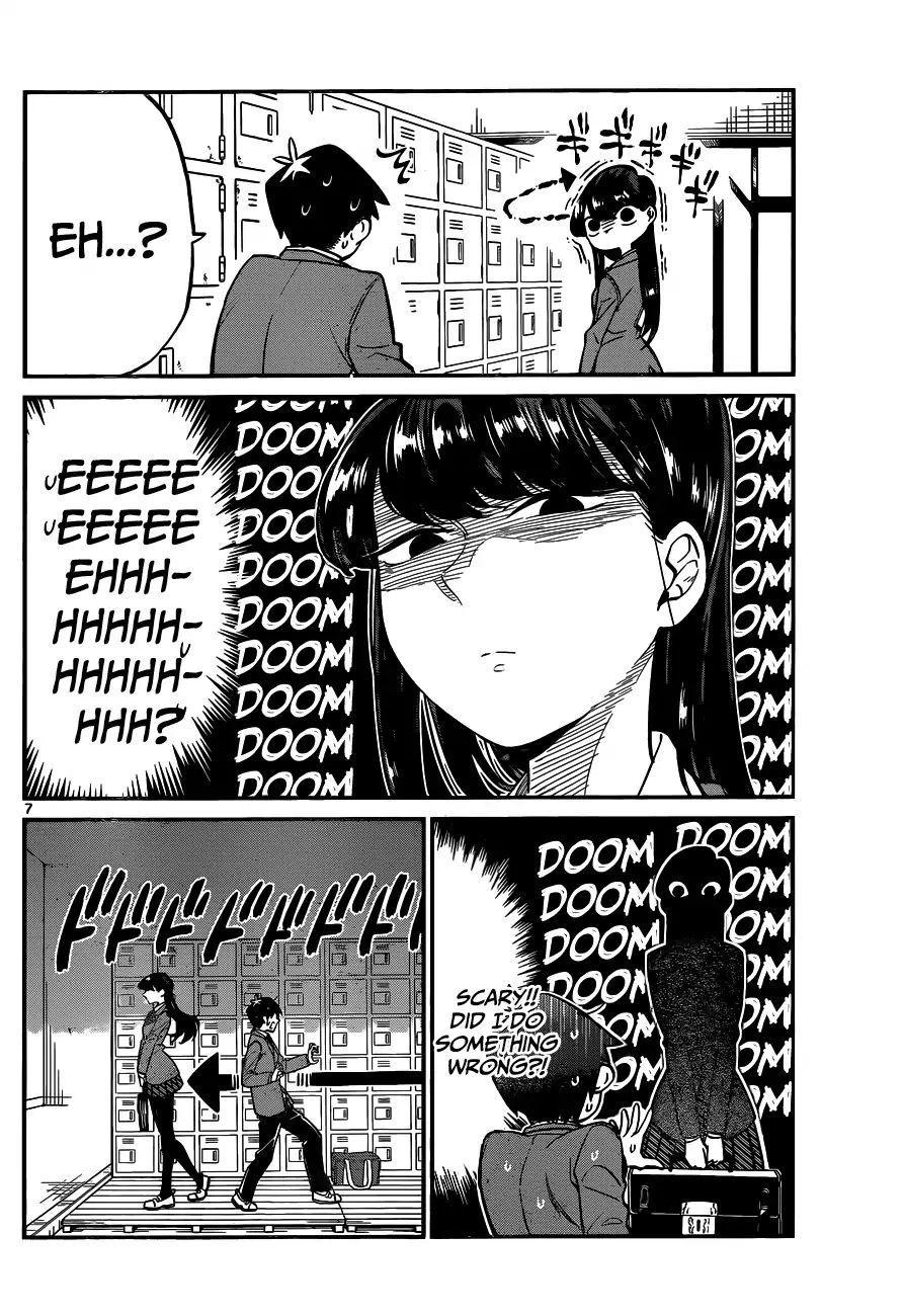 Komi-San Wa Komyushou Desu Vol.1 Chapter 1: A Normal Person page 11 - Mangakakalot