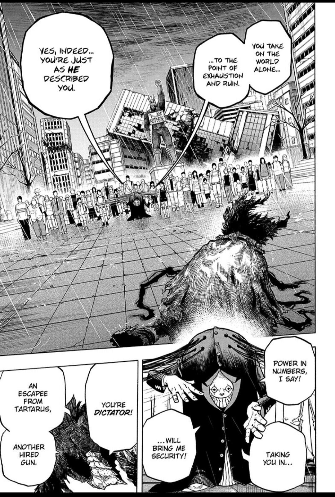 Boku No Hero Academia Chapter 318 page 11 - Mangakakalots.com