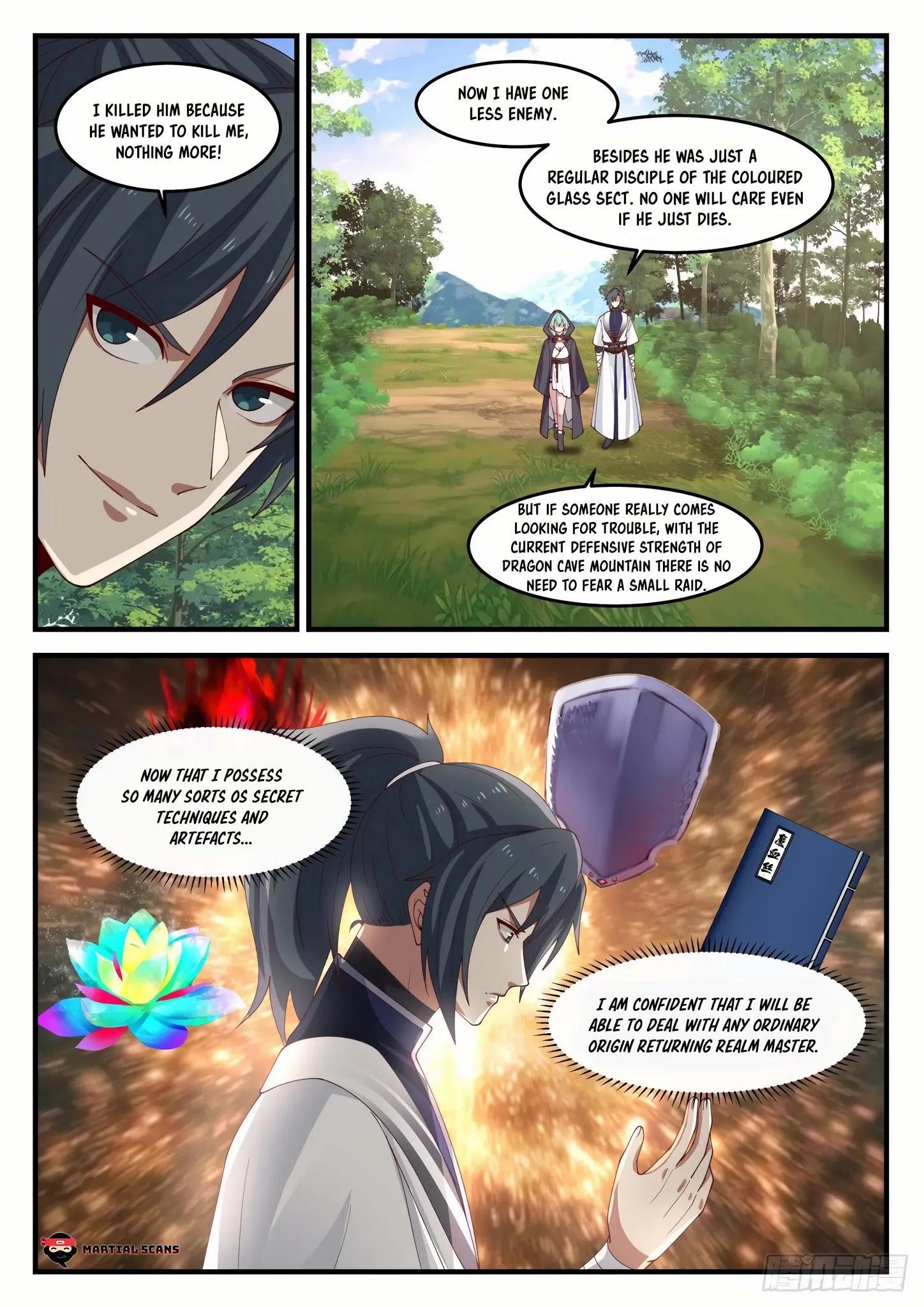 Martial Peak Chapter 1190: Who Is Su Yan? page 6 - Mangakakalots.com