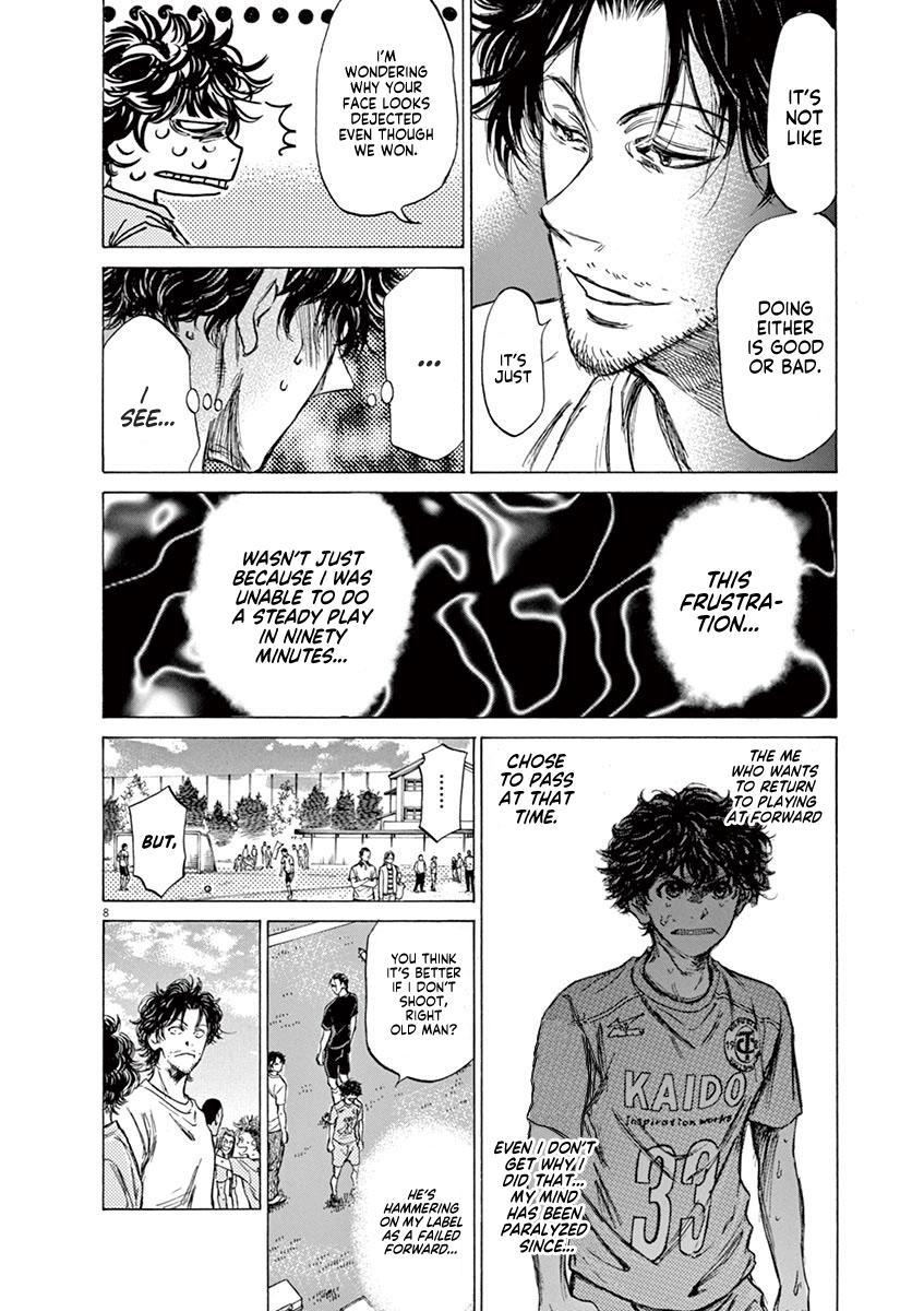 Ao Ashi Vol.8 Chapter 83: Dejected Face page 9 - Mangakakalots.com