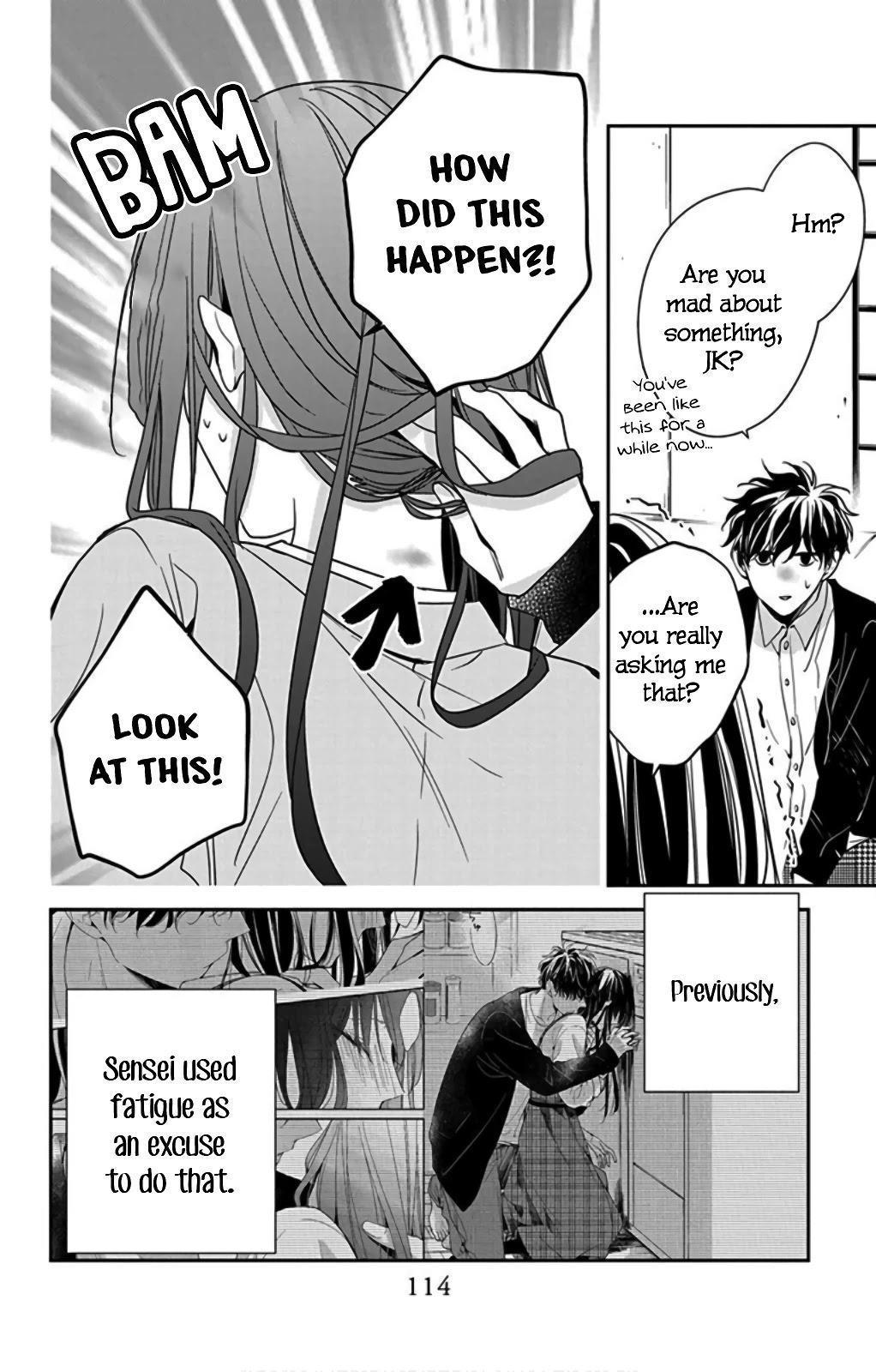 Tsuiraku Jk To Haijin Kyoushi Chapter 37 page 6 - Mangakakalots.com