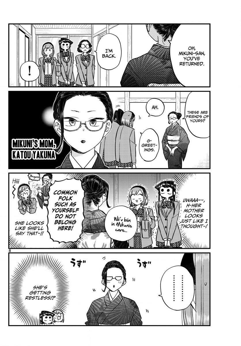 Komi-San Wa Komyushou Desu Vol.11 Chapter 149: Katou-San's Home page 8 - Mangakakalot