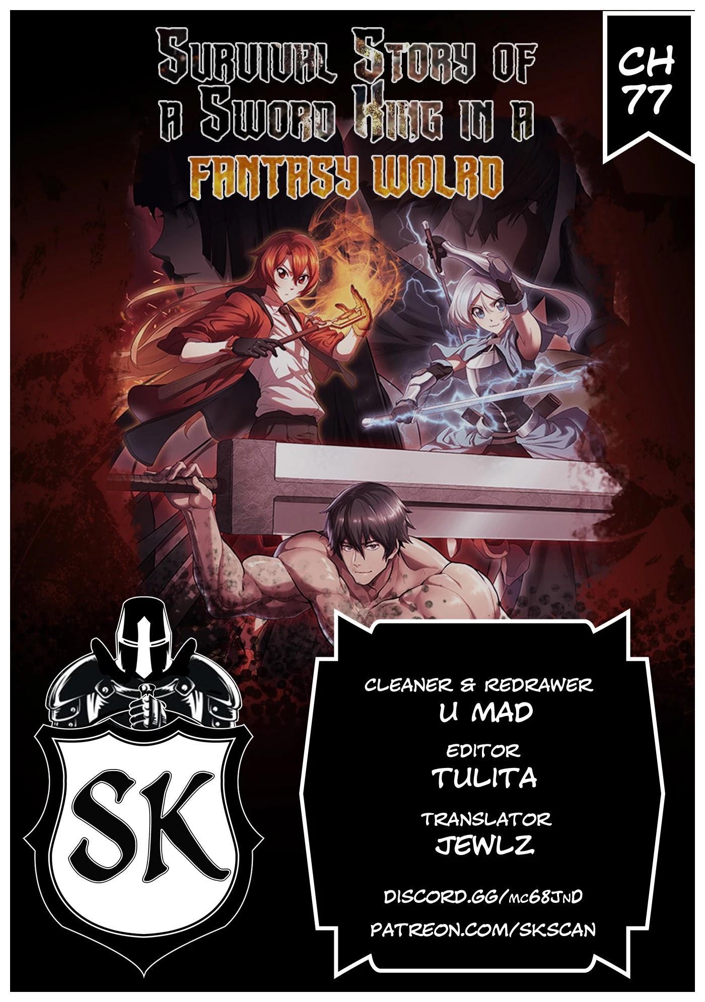 Survival Story Of A Sword King In A Fantasy World Chapter 77 page 1 - Mangakakalots.com