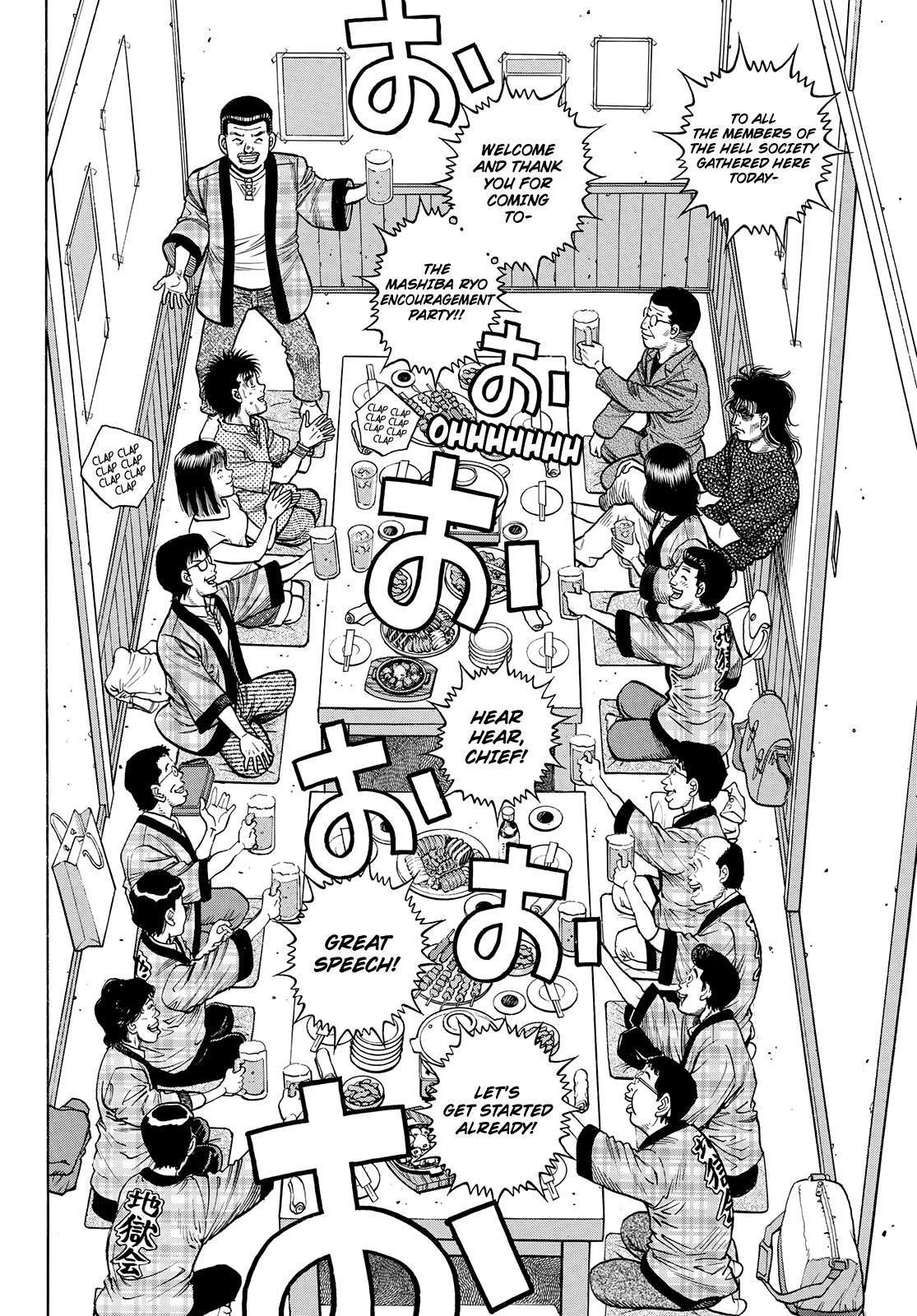 Hajime No Ippo Chapter 1352: Encouragement Party page 2 - Mangakakalot