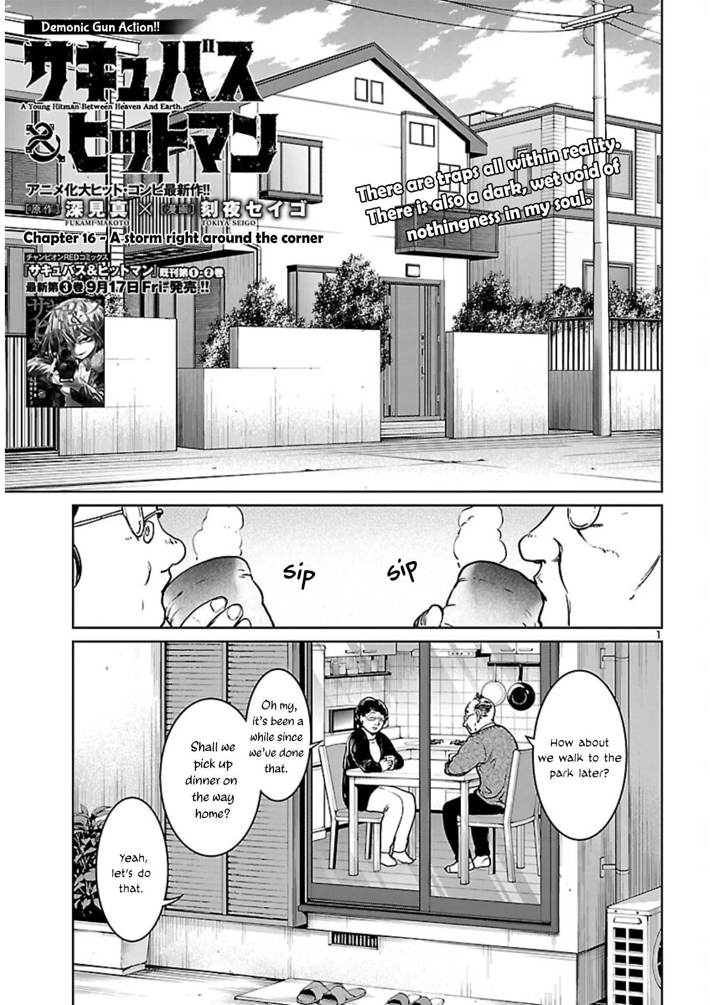 Succubus & Hitman Chapter 16: A Storm Right Around The Corner page 2 - Mangakakalots.com