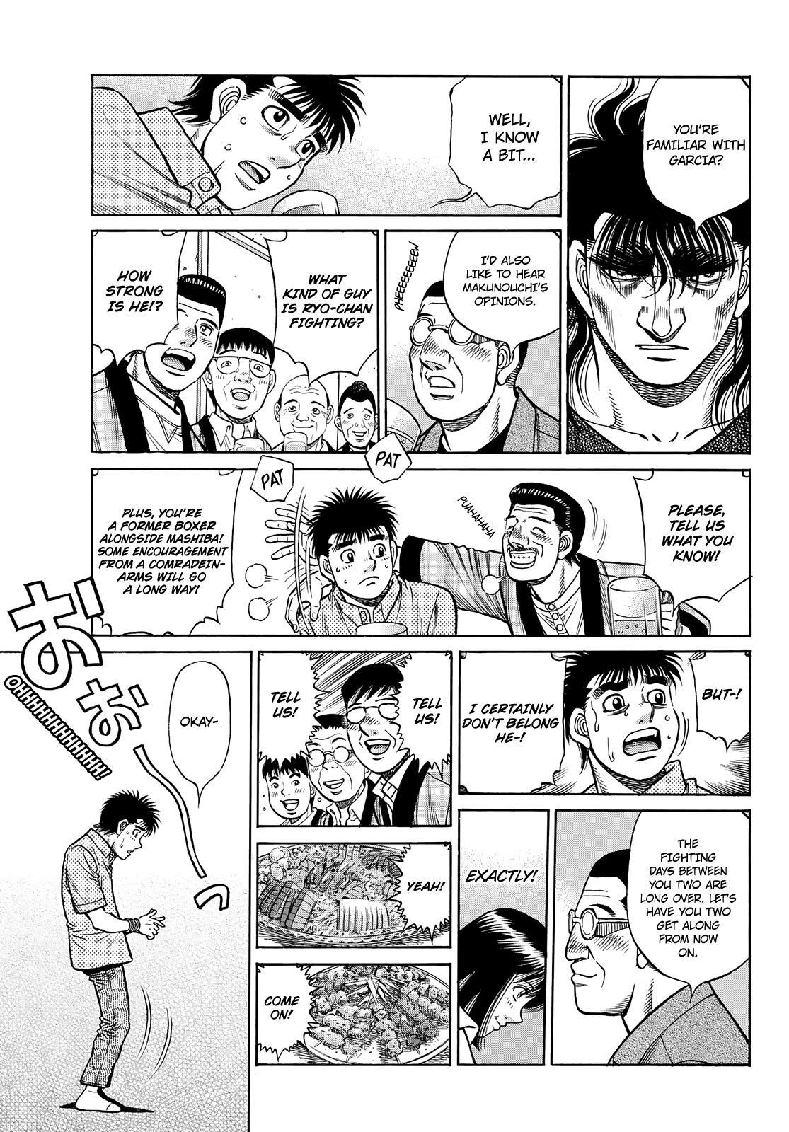 Hajime No Ippo Chapter 1352: Encouragement Party page 5 - Mangakakalot