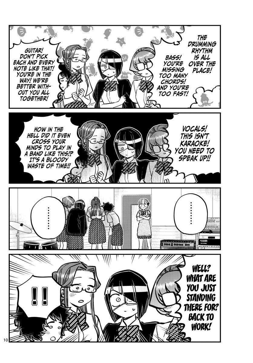 Komi-San Wa Komyushou Desu Chapter 235: Band page 10 - Mangakakalot