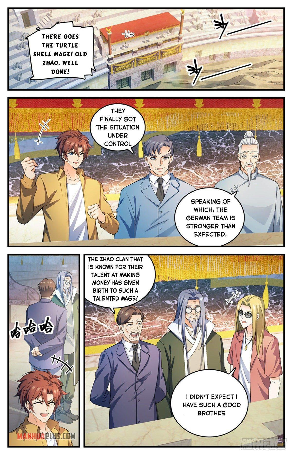 Versatile Mage Chapter 721 page 2 - Mangakakalots.com
