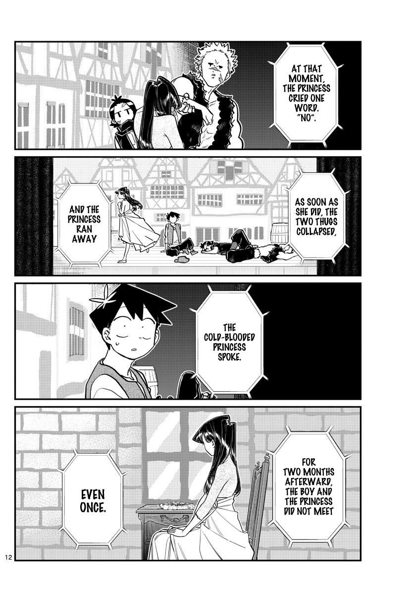 Komi-San Wa Komyushou Desu Chapter 223: First Day Of The Culture Festival page 12 - Mangakakalot