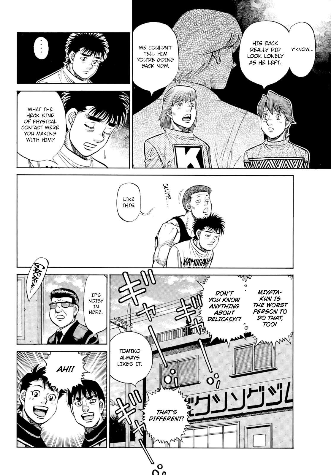 Hajime No Ippo Chapter 1350: Keith's Back page 11 - Mangakakalots.com