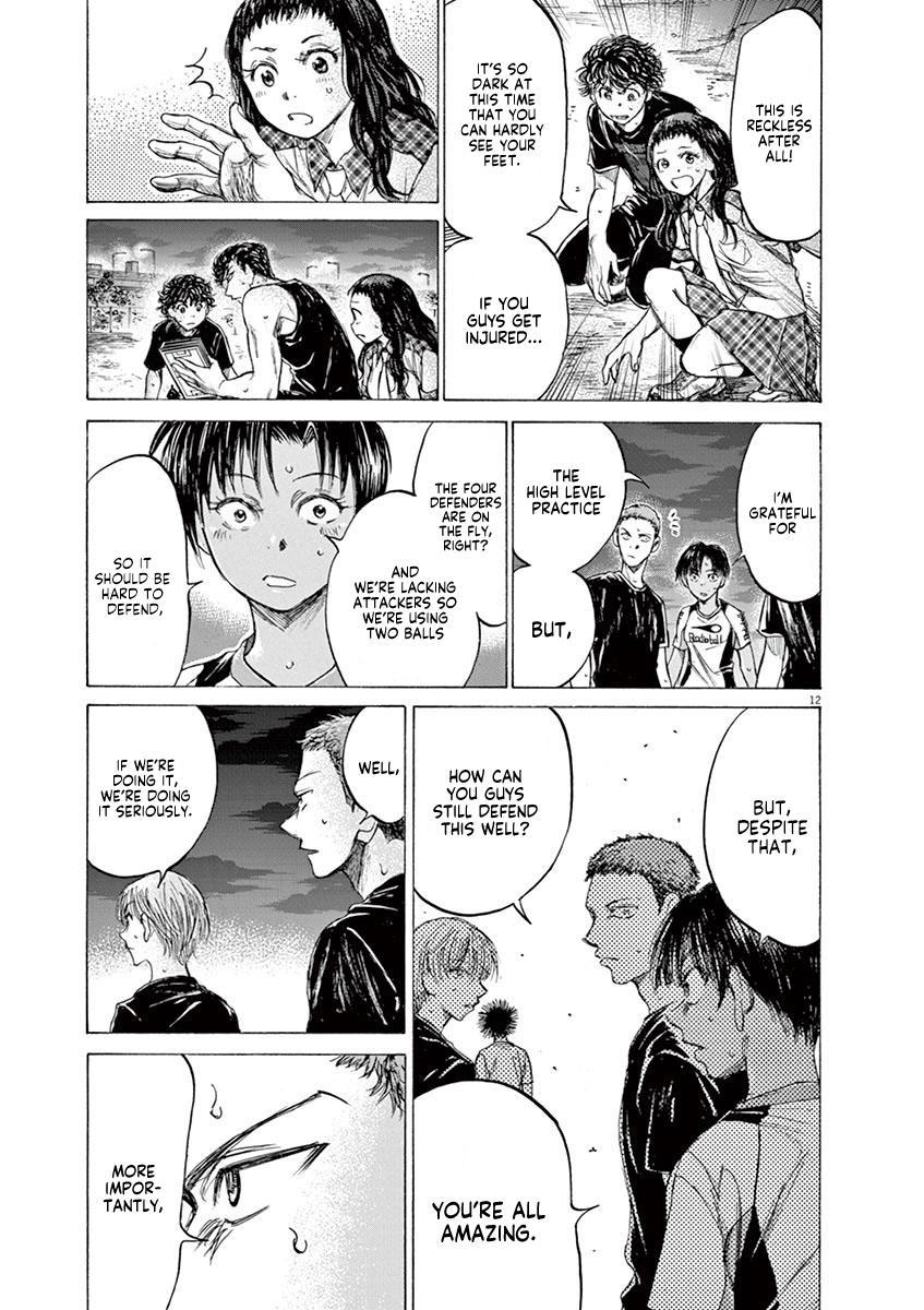 Ao Ashi Vol.14 Chapter 141: Everyone Is Unique page 14 - Mangakakalots.com