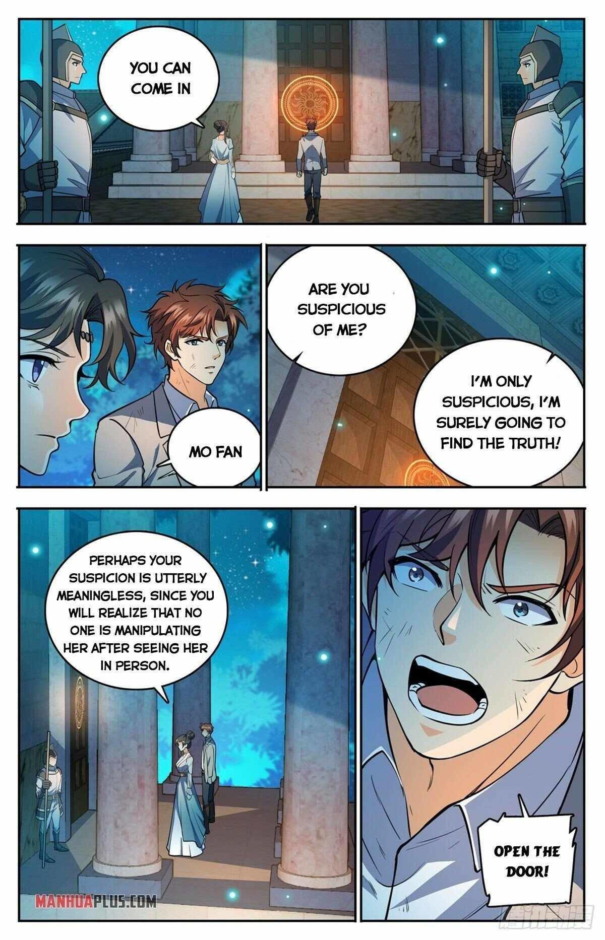 Versatile Mage Chapter 752 page 8 - Mangakakalots.com