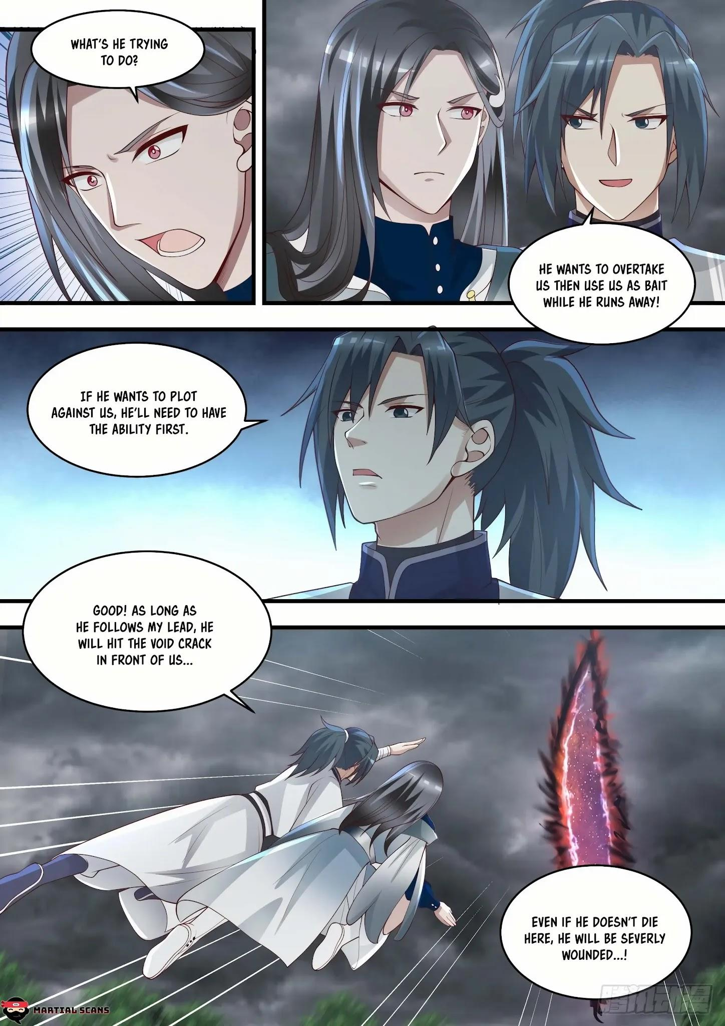 Martial Peak Chapter 1457: Illusionary Void Butterfly page 12 - Mangakakalots.com