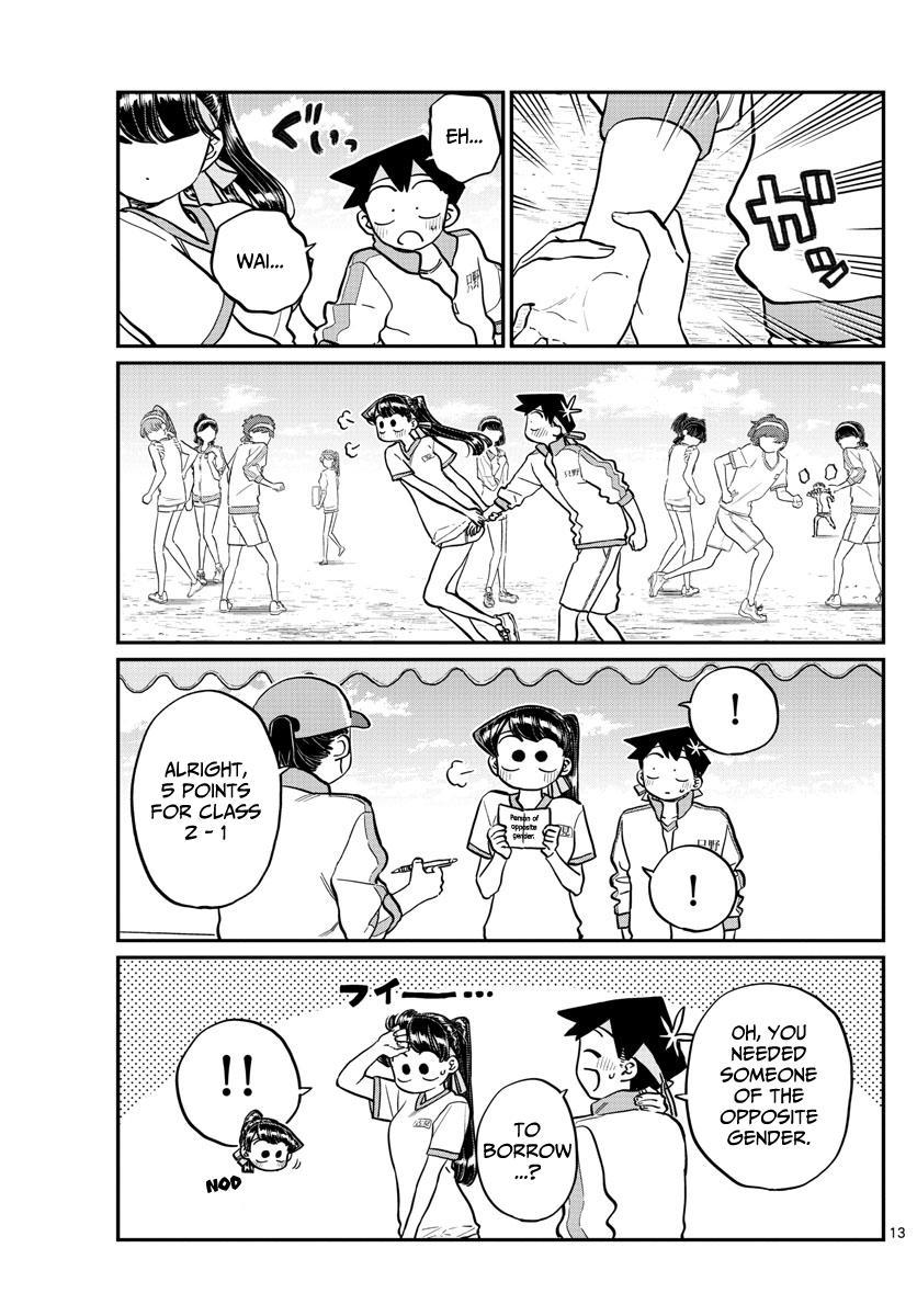 Komi-San Wa Komyushou Desu Chapter 209: Second Year Sports Festival 2 page 9 - Mangakakalot