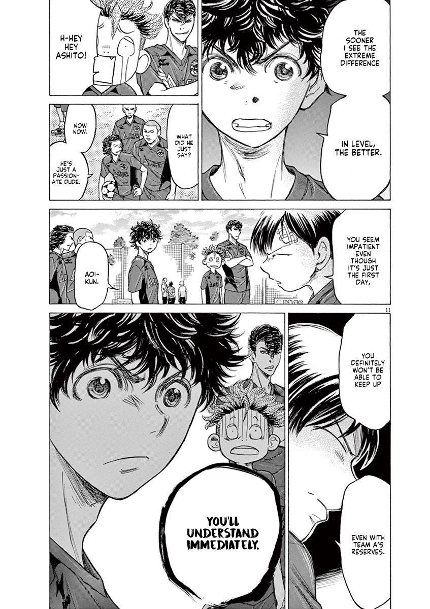 Ao Ashi Vol.12 Chapter 119: Start Line page 11 - Mangakakalots.com