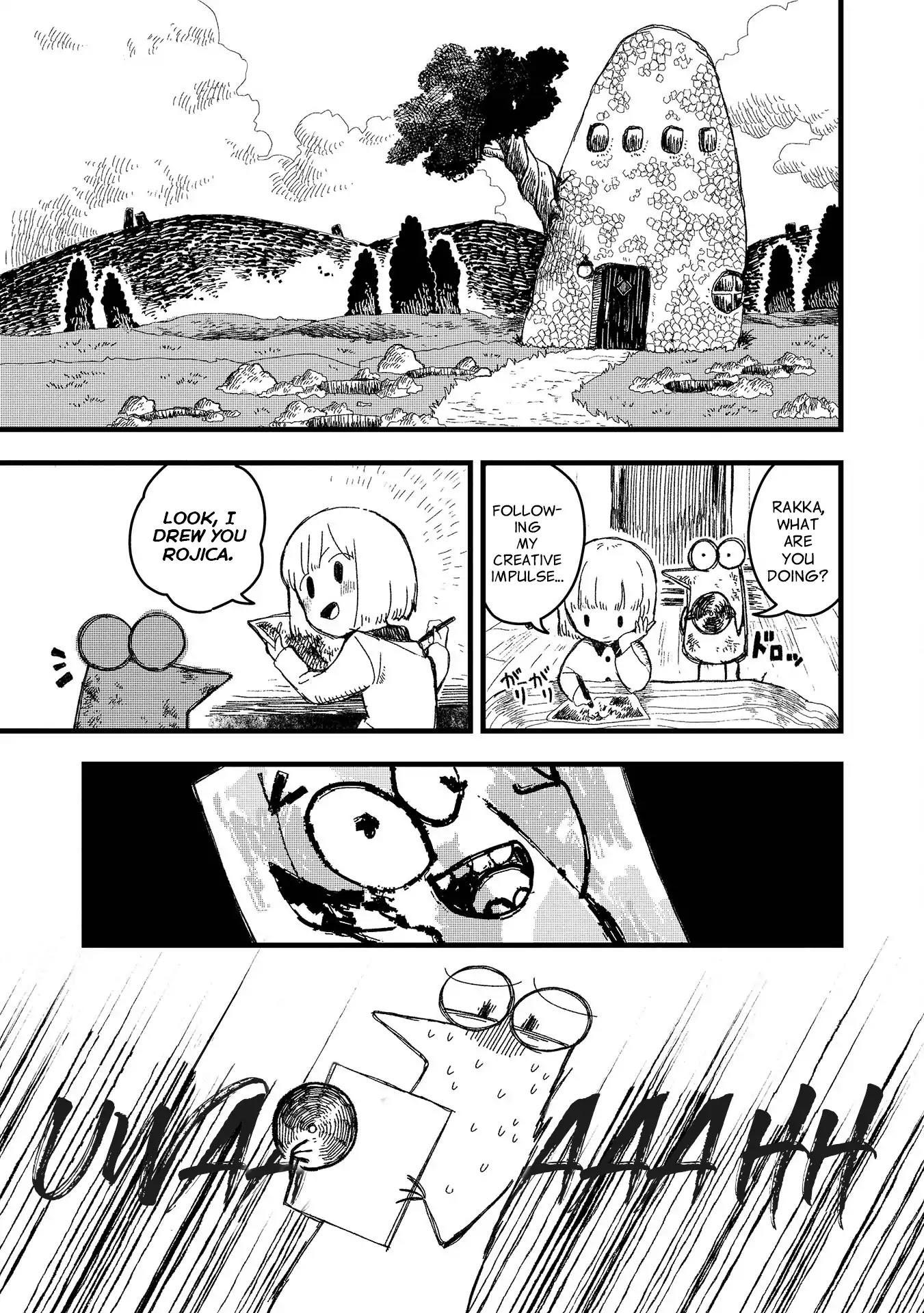 Rojica To Rakkasei Chapter 1: Mysterious Disc page 1 - Mangakakalots.com