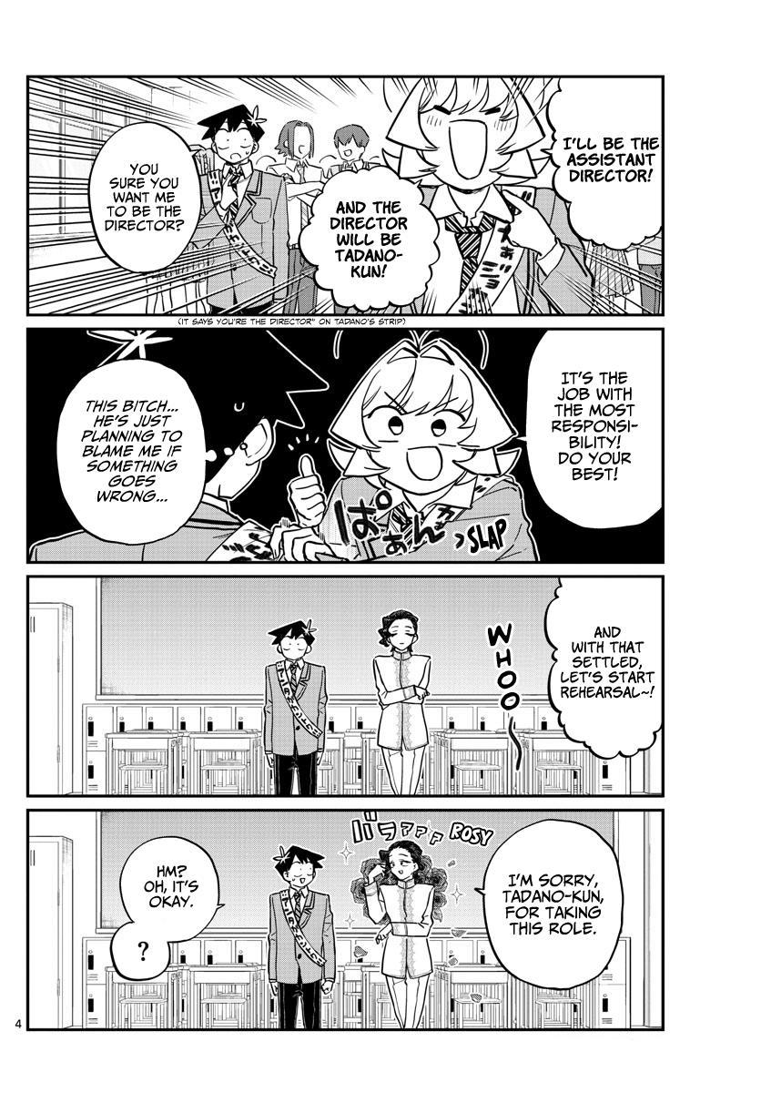 Komi-San Wa Komyushou Desu Chapter 221: Practice For The Culture Festival. page 4 - Mangakakalot