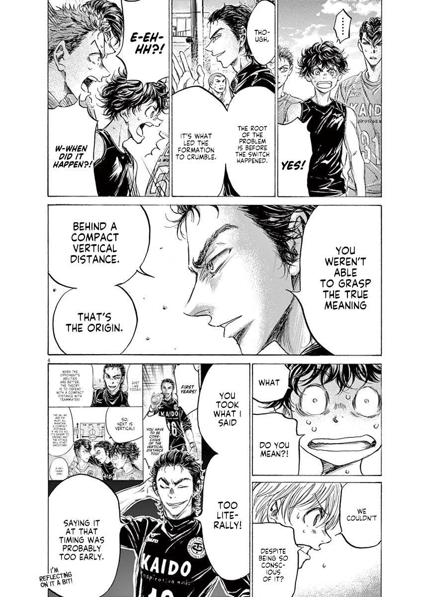 Ao Ashi Vol.16 Chapter 160: Surprising Point page 5 - Mangakakalots.com