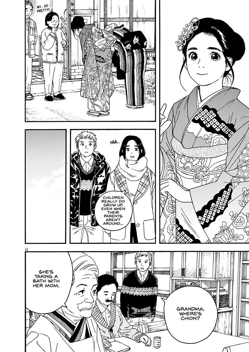 Neko No Otera No Chion-San Chapter 64: Coming-Of-Age Ceremony, Family And Chion page 10 - Mangakakalots.com