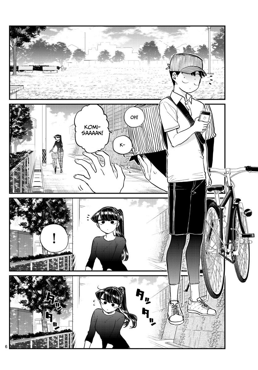 Komi-San Wa Komyushou Desu Chapter 187: Bike Practice page 7 - Mangakakalot