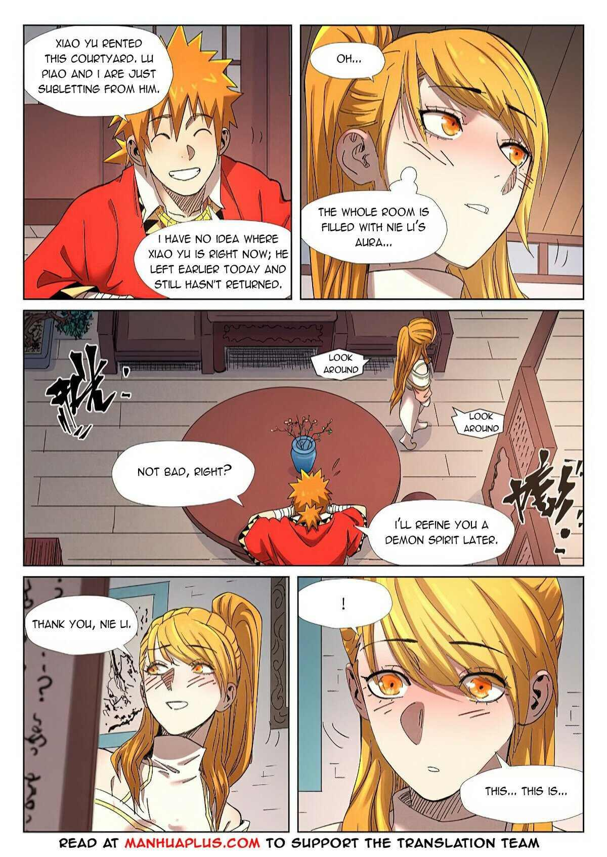 Tales Of Demons And Gods Chapter 343 page 9 - Mangakakalots.com