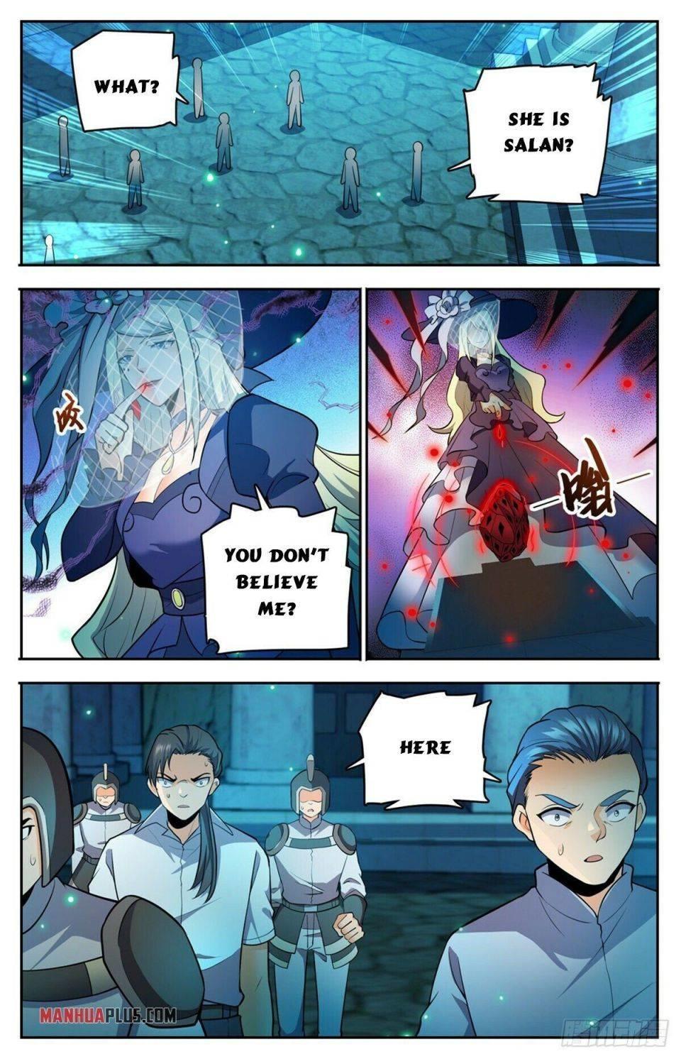 Versatile Mage Chapter 754 page 11 - Mangakakalot