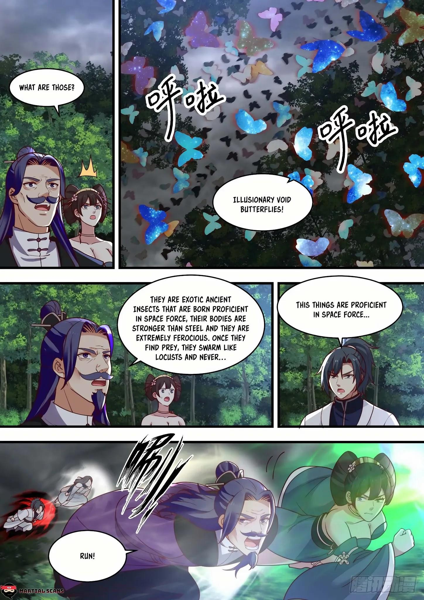 Martial Peak Chapter 1457: Illusionary Void Butterfly page 2 - Mangakakalots.com
