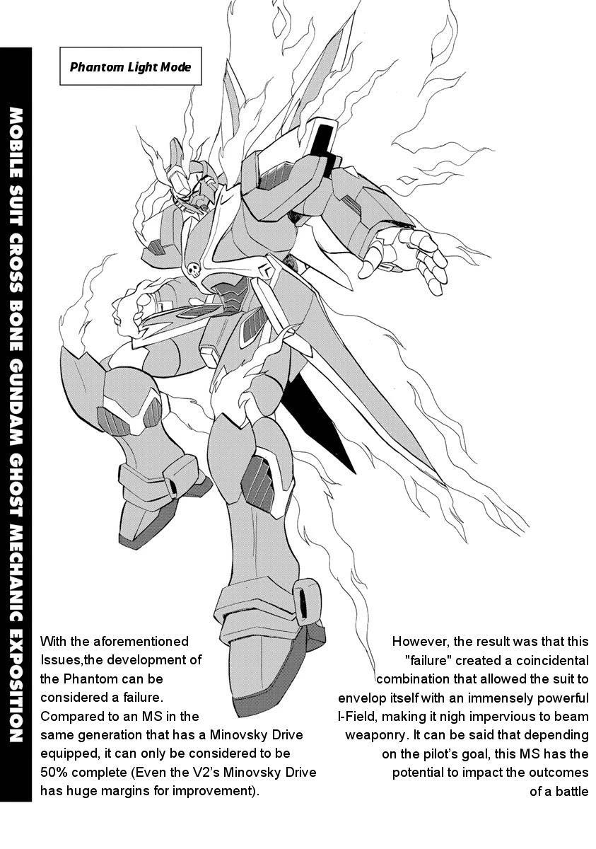 Kidou Senshi Crossbone Gundam Ghost Chapter 18.5: Volume 4 Mechanical Exposition page 3 - Mangakakalots.com