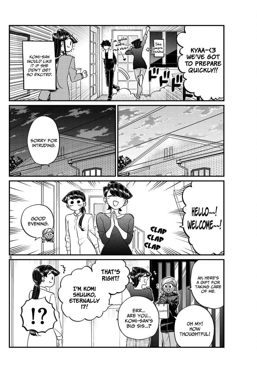 Komi-San Wa Komyushou Desu Vol.10 Chapter 142: A Sleep Over page 6 - Mangakakalot
