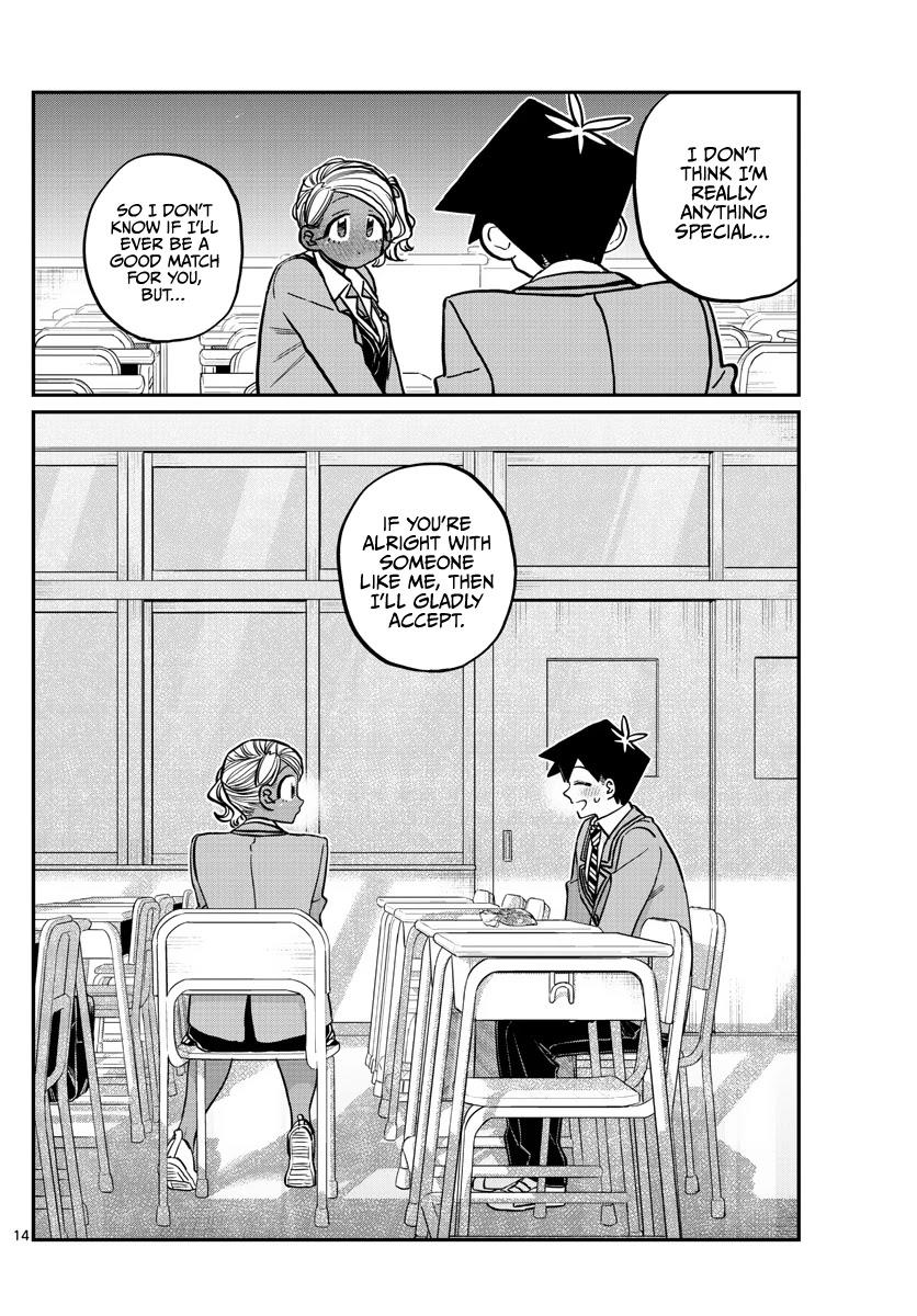 Komi-San Wa Komyushou Desu Chapter 300: Confession page 14 - Mangakakalot