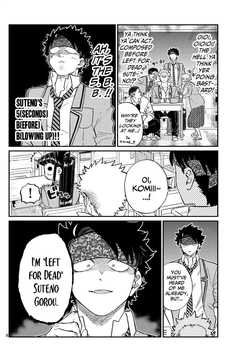 Komi-San Wa Komyushou Desu Vol.11 Chapter 146: Delinquents 2 page 8 - Mangakakalot