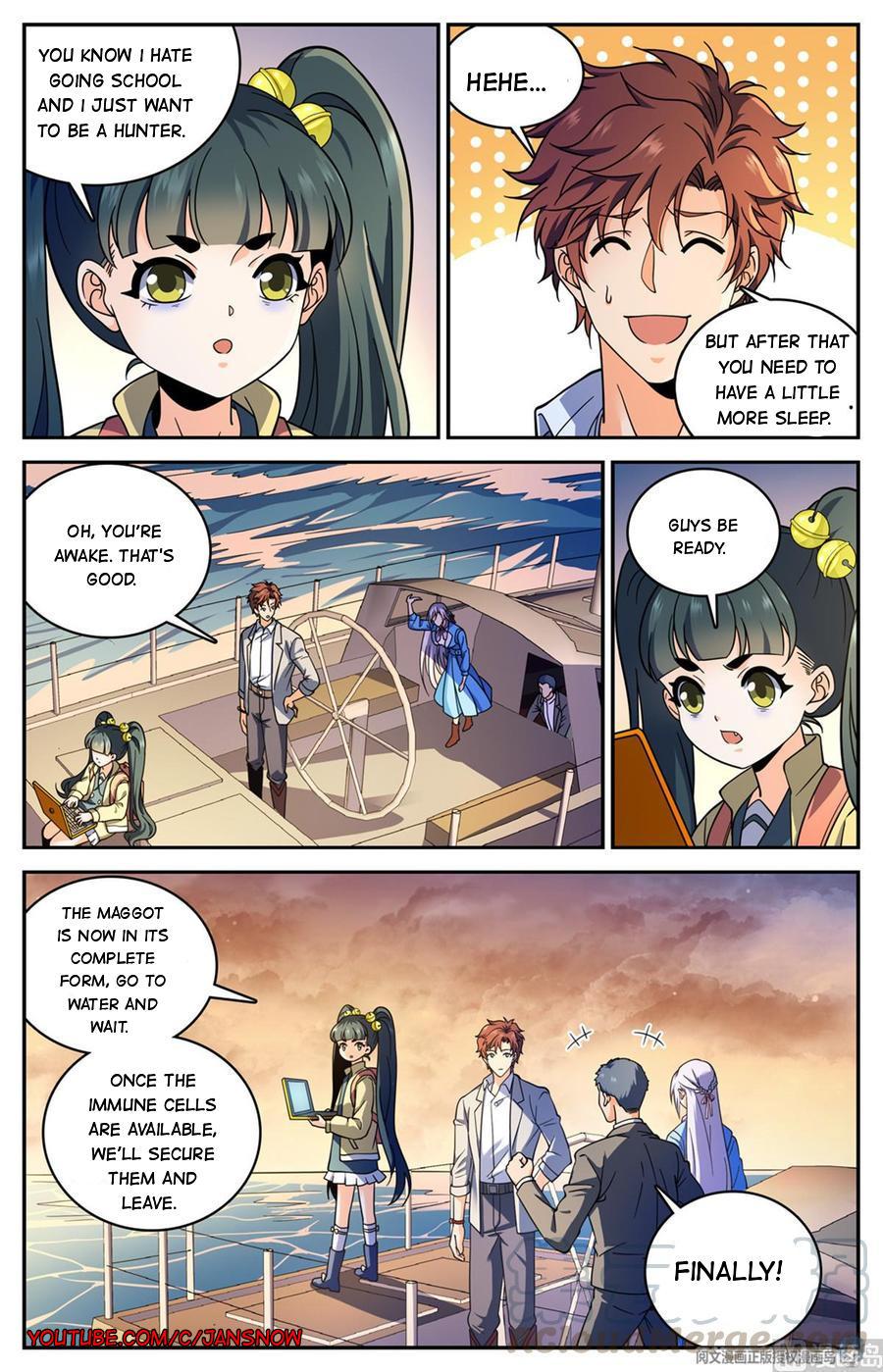 Versatile Mage Chapter 652 page 3 - Mangakakalots.com