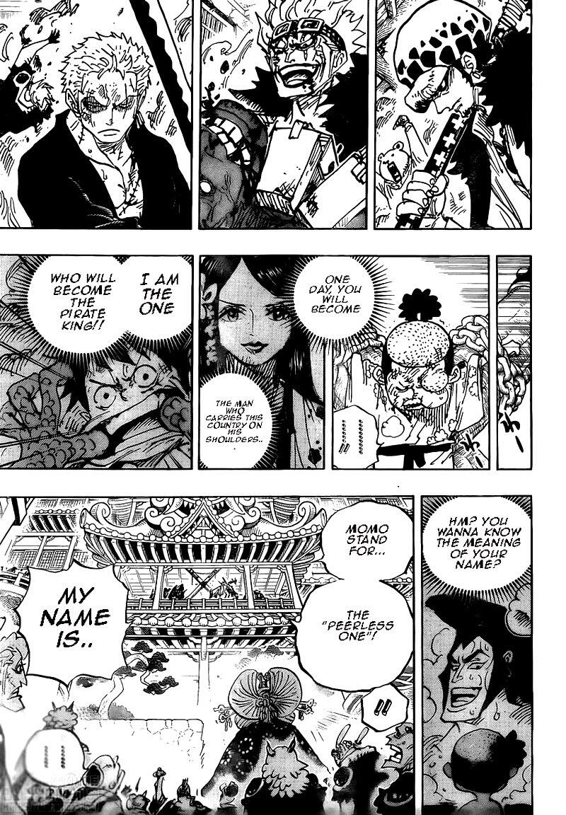 One Piece Chapter 986: My Name page 10 - Mangakakalots.com
