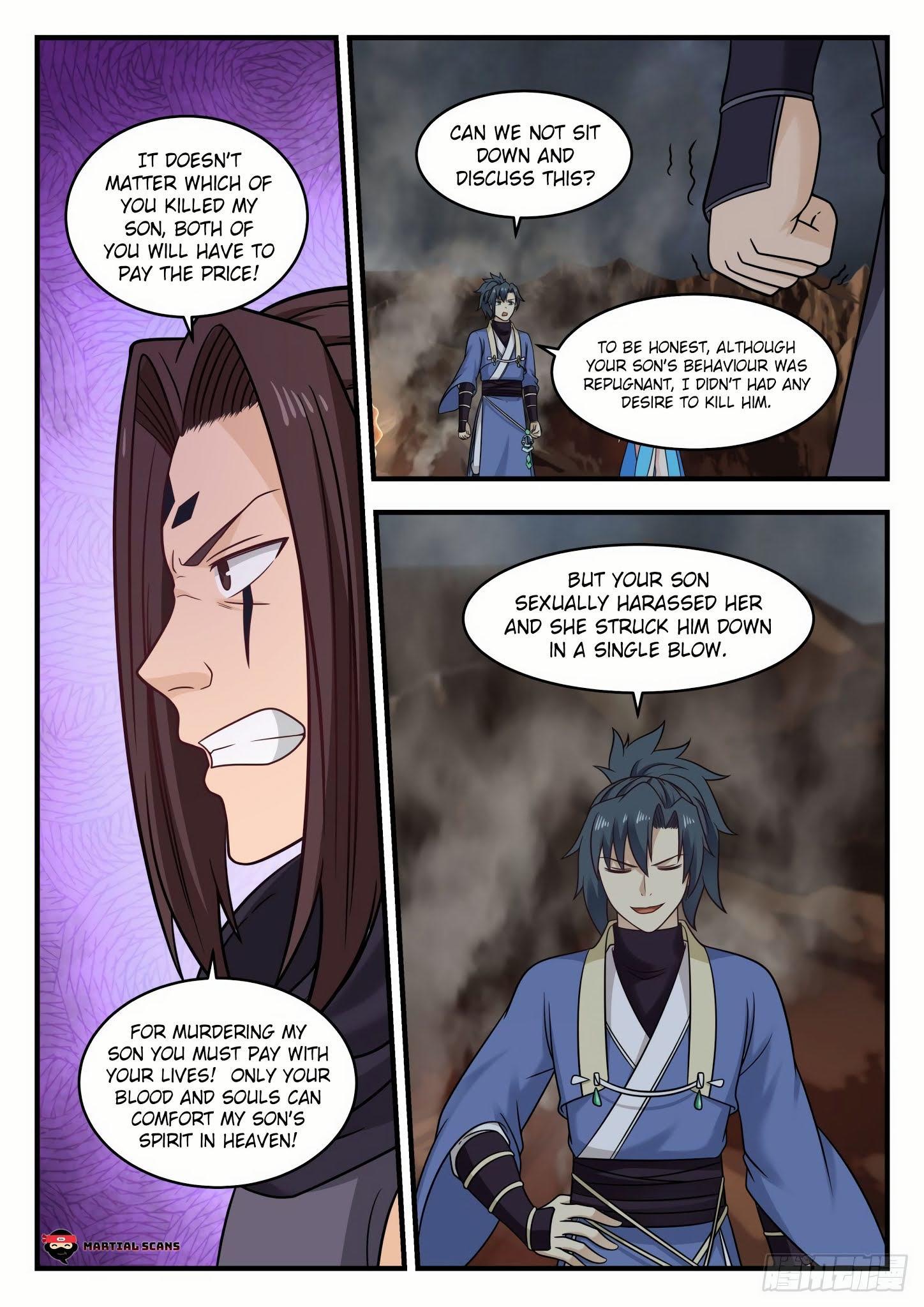 Martial Peak Chapter 585 - Tong Xuan Realm page 4 - Mangakakalots.com