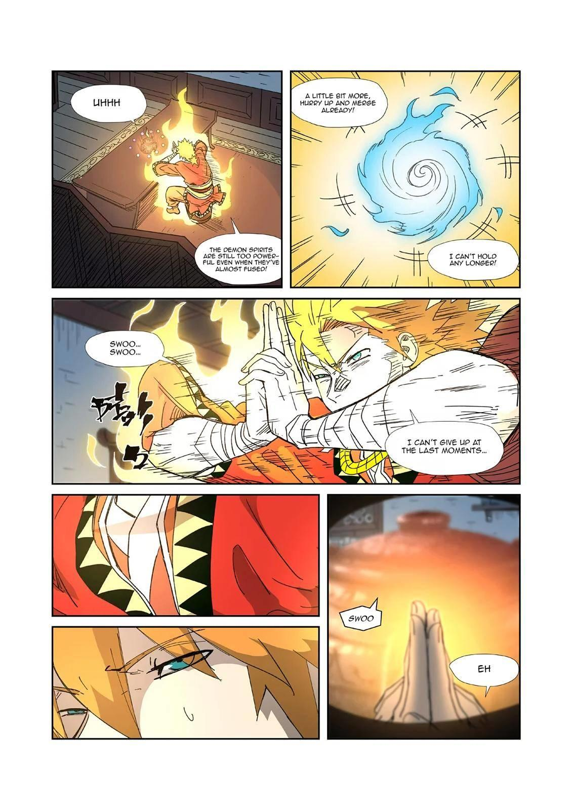 Tales Of Demons And Gods Chapter 332.5 page 11 - Mangakakalots.com