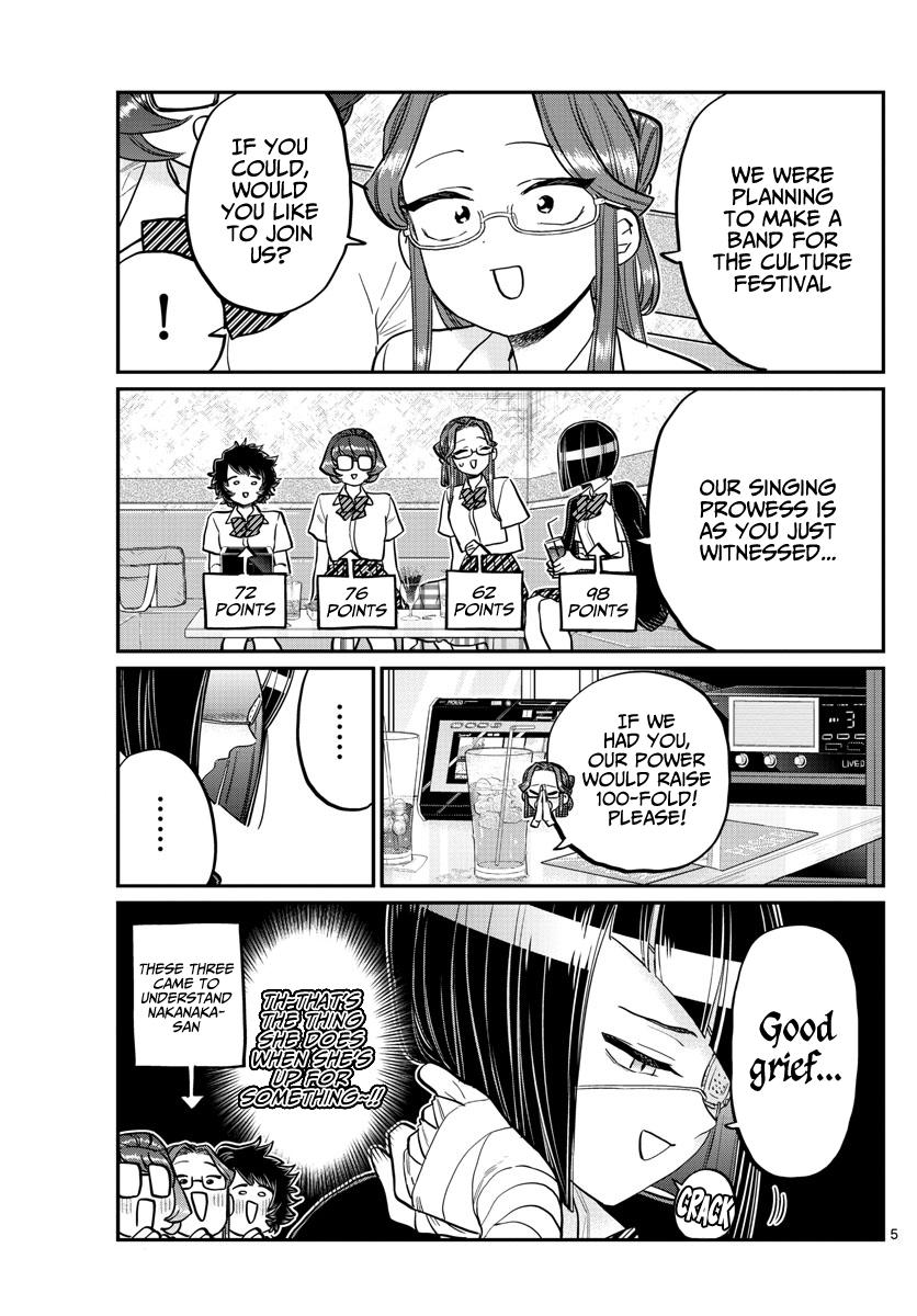Komi-San Wa Komyushou Desu Chapter 235: Band page 5 - Mangakakalot