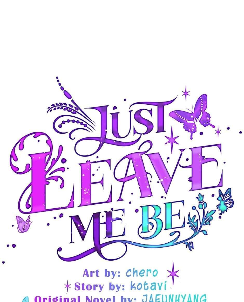 Just Leave Me Be Chapter 51 page 1