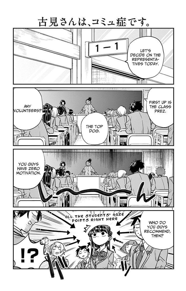 Komi-San Wa Komyushou Desu Vol.1 Chapter 17: Class Decision page 1 - Mangakakalot