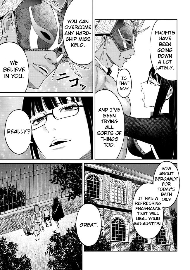 """The Only """"r"""" In The World Vol.3 Chapter 18.1: Kelg's Mansion (Part One) page 5 - Mangakakalots.com"""