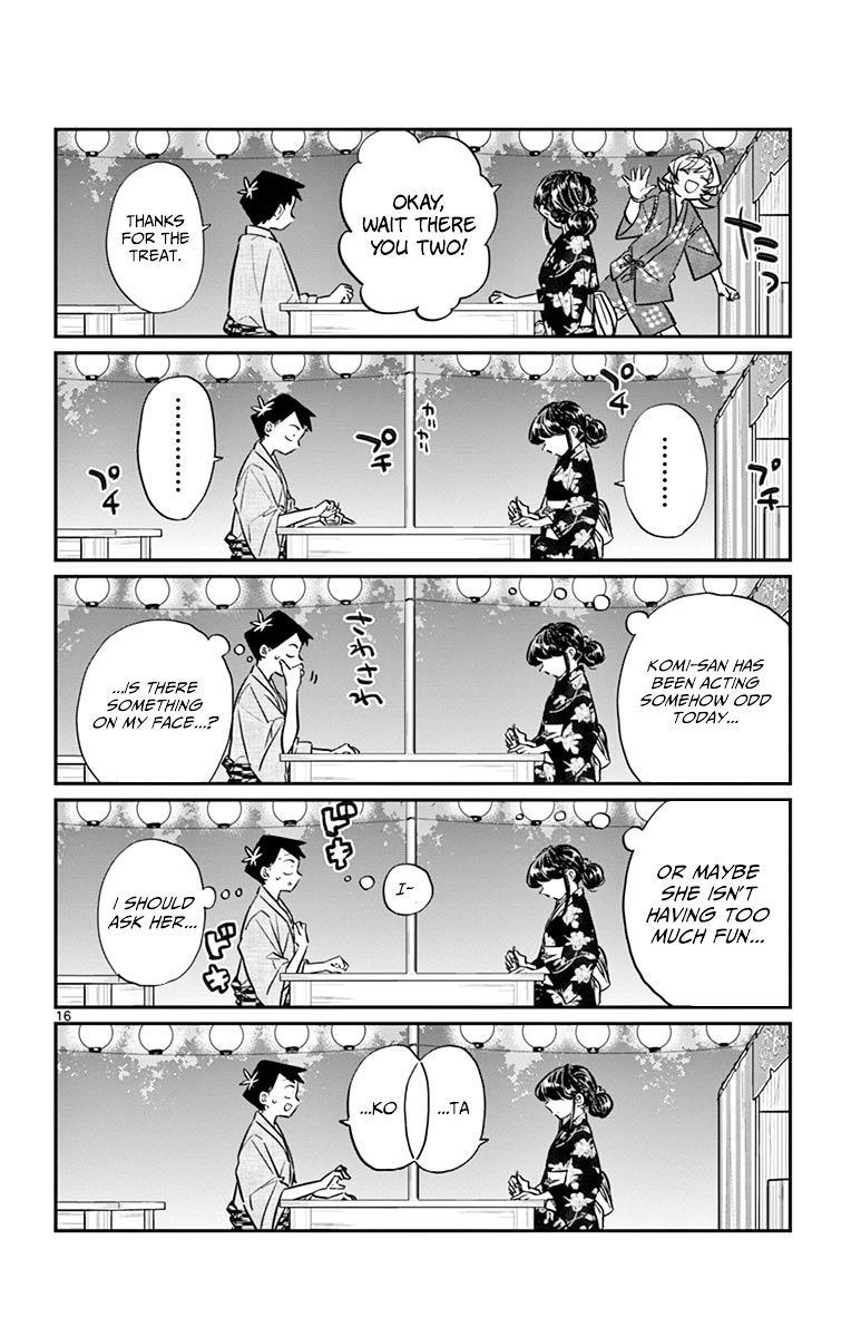 Komi-San Wa Komyushou Desu Vol.3 Chapter 46: Summer Festival page 16 - Mangakakalot
