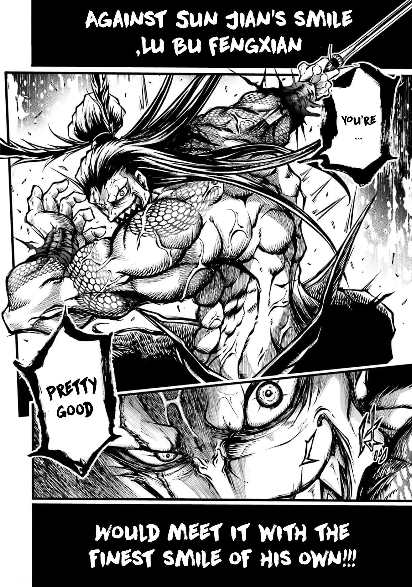 Shuumatsu No Valkyrie: The Legend Of Lu Bu Fengxian Chapter 8 page 29 - Mangakakalots.com