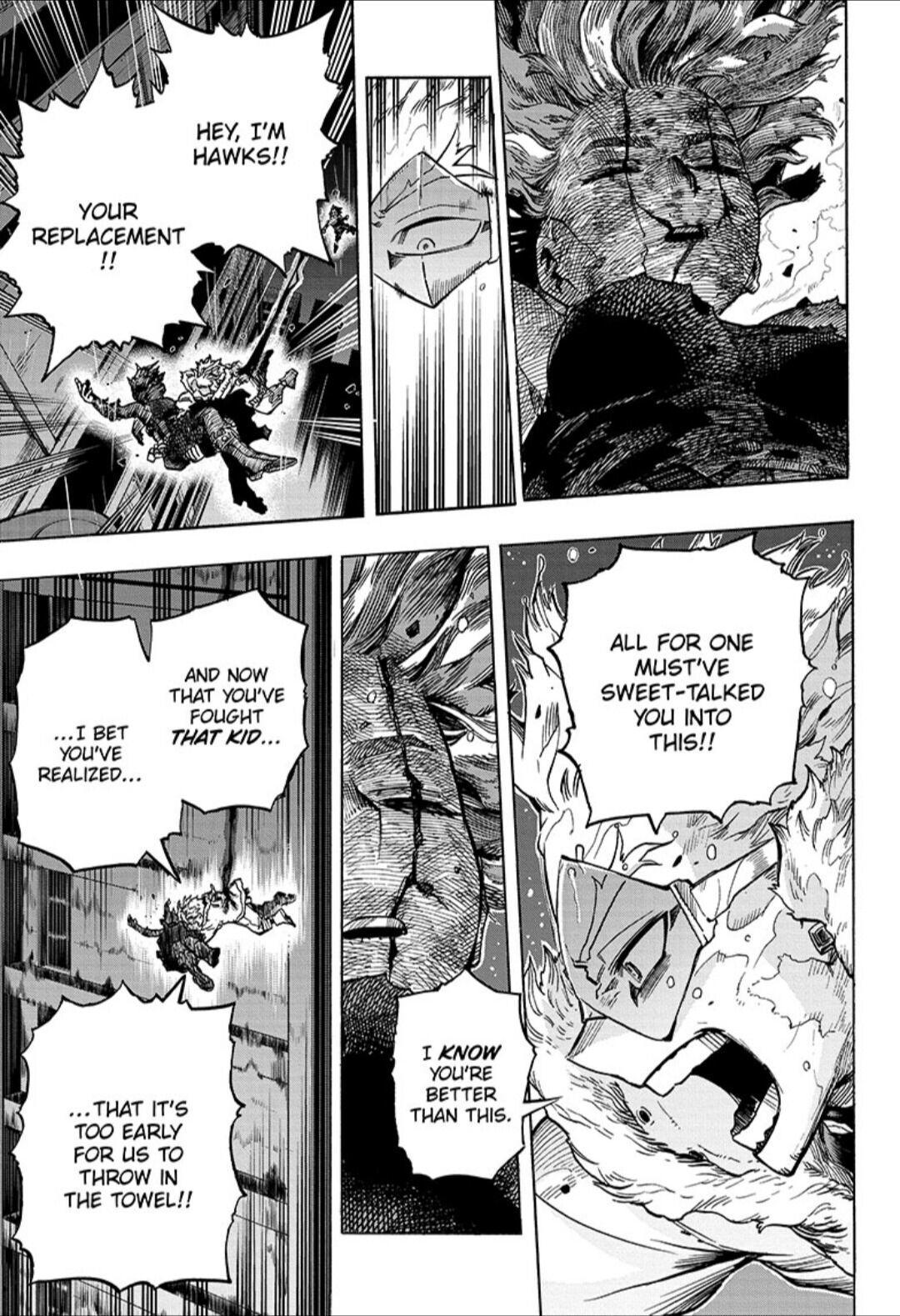 Boku No Hero Academia Chapter 316 page 3 - Mangakakalots.com