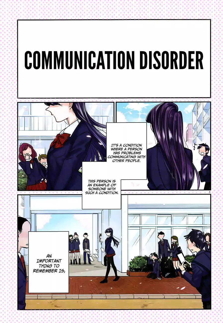 Komi-San Wa Komyushou Desu Vol.1 Chapter 1: A Normal Person page 5 - Mangakakalot