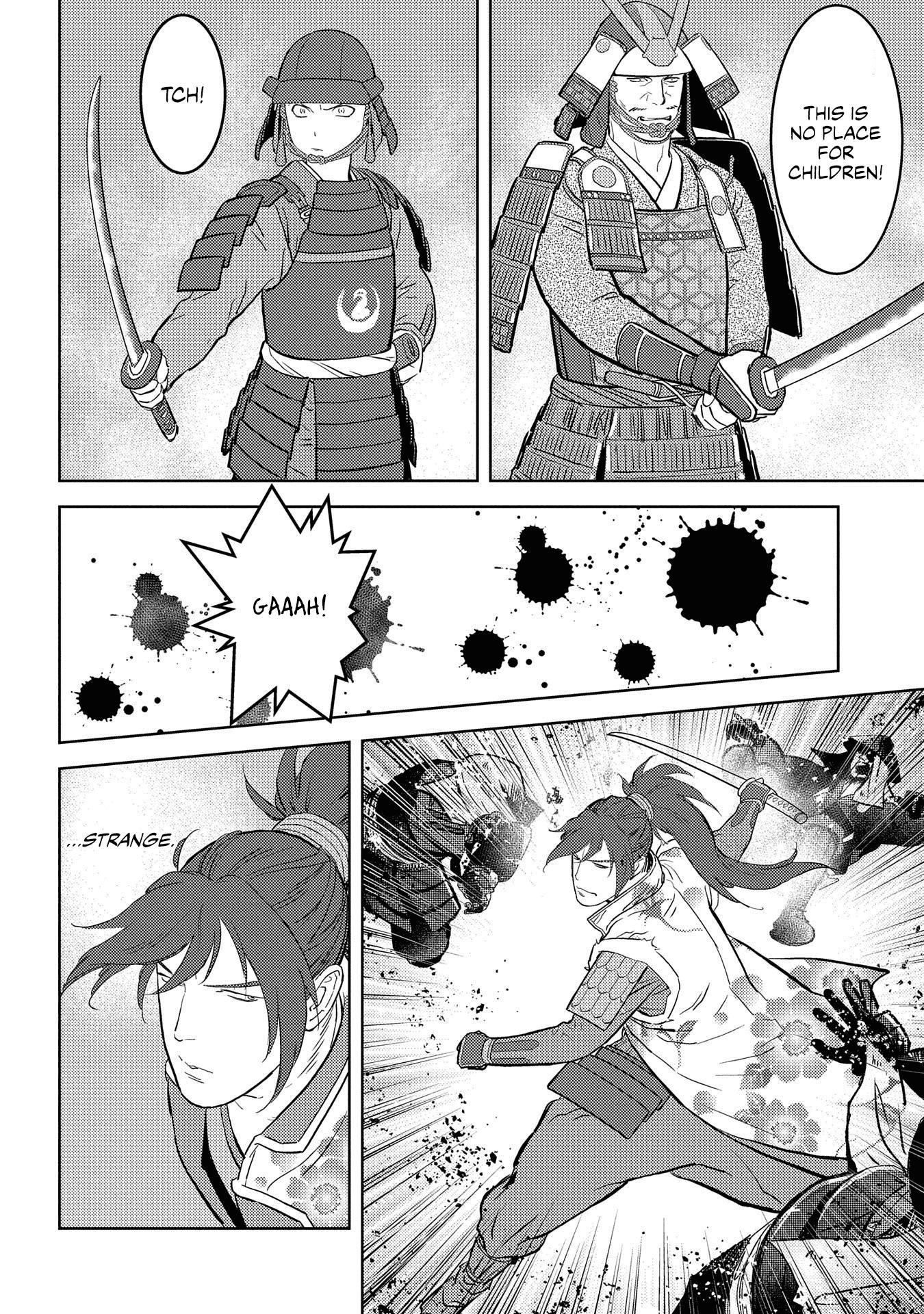 Sengoku Komachi Kurou Tan! Chapter 39 page 24 - Mangakakalots.com