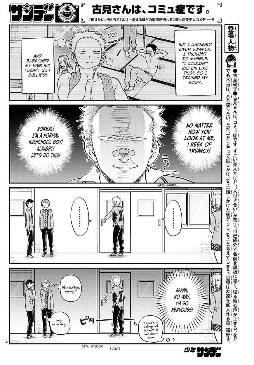 Komi-San Wa Komyushou Desu Vol.6 Chapter 76: A Delinquent page 4 - Mangakakalot