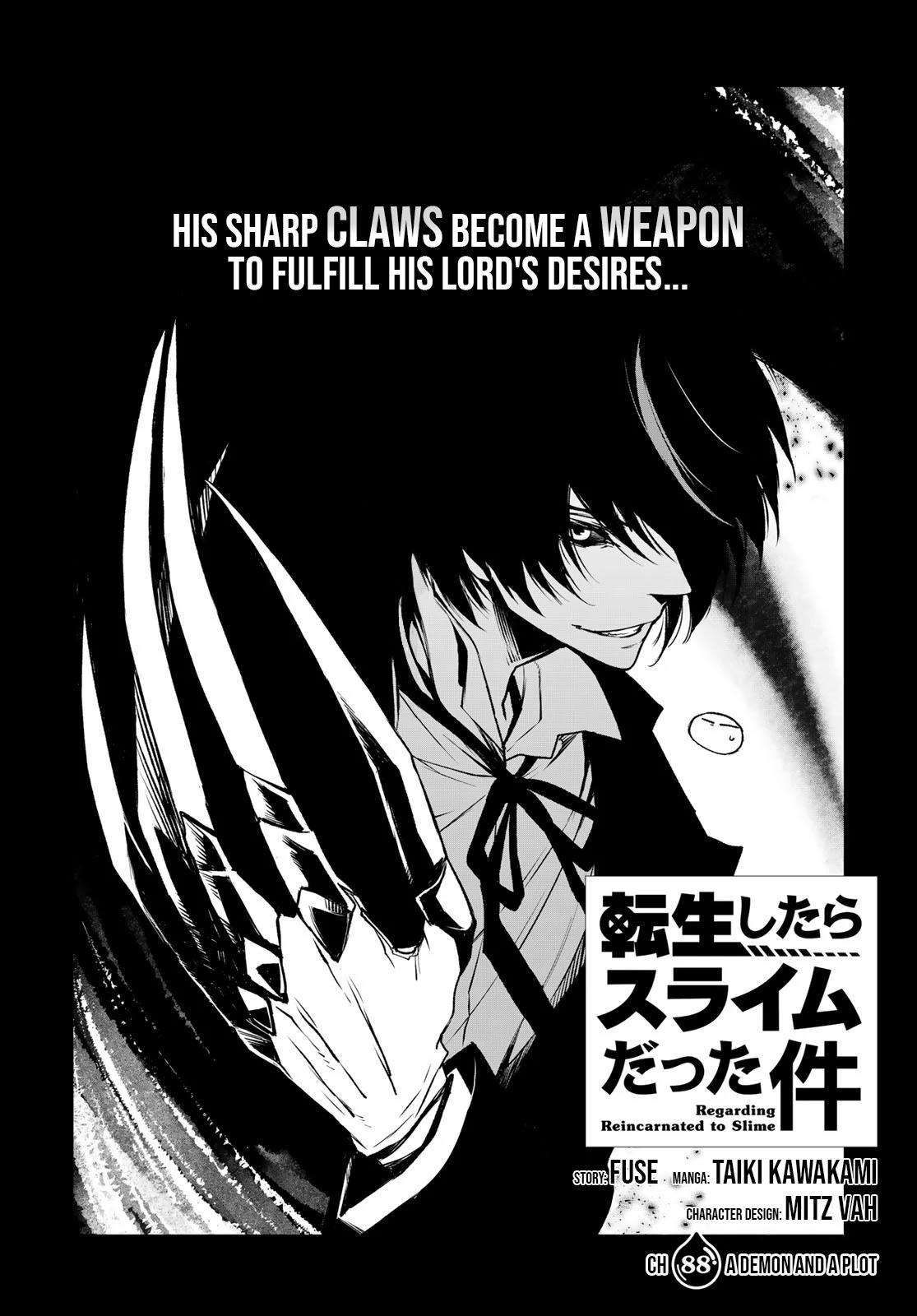 Tensei Shitara Slime Datta Ken Chapter 88: A Demon And A Plot page 2 - Mangakakalots.com