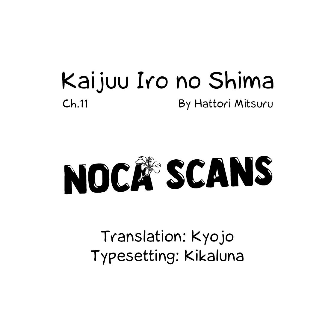 Kaijuu Iro No Shima Chapter 11 page 13 - Mangakakalots.com